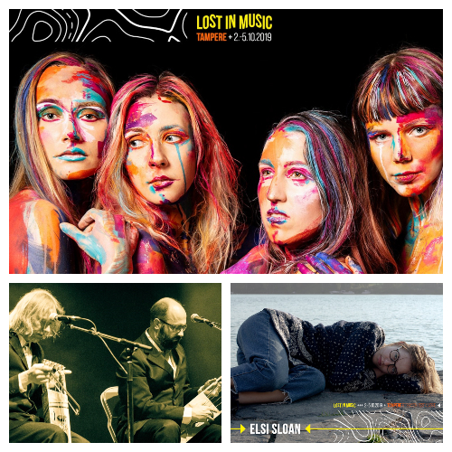 Tuuletar Puuluup Elsi Sloan Lost in Music 2019 G Livelab